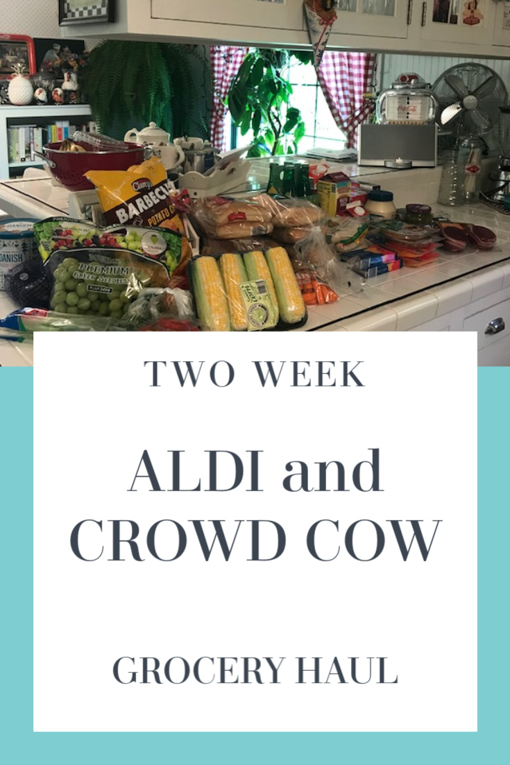 Aldi + Crowd Cow Grocery Haul