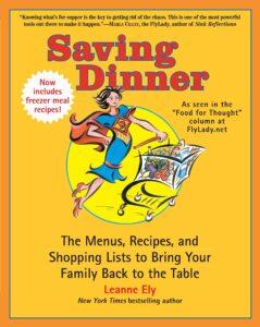 Saving Dinner cookbook cover photo