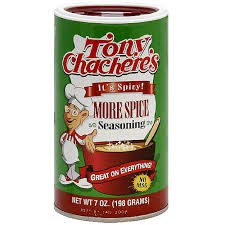 Tony Chachere's Creole Seasoning picture of container