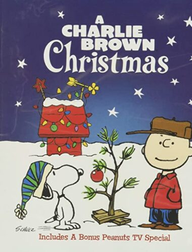 A Charlie Brown Christmas dvd picture