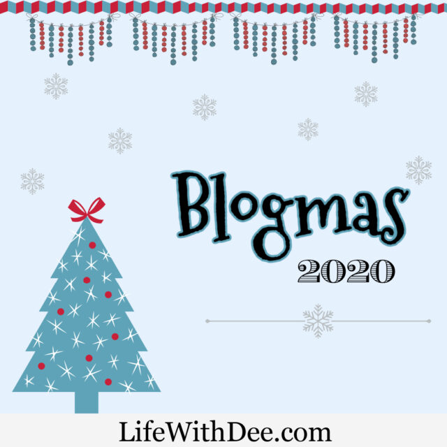 Blogmas 2020 graphic