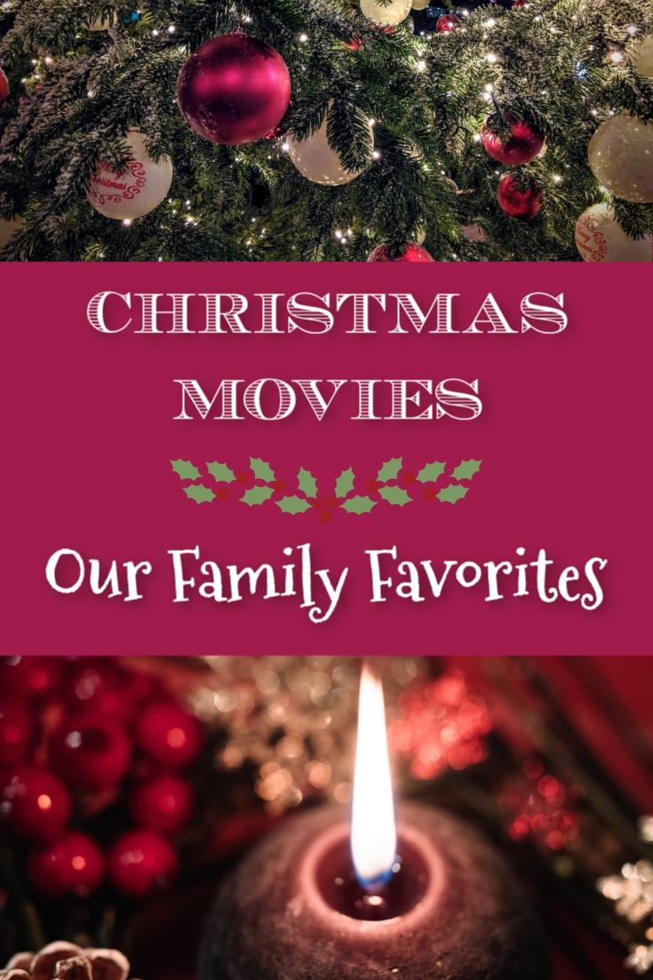 Christmas movies graphic