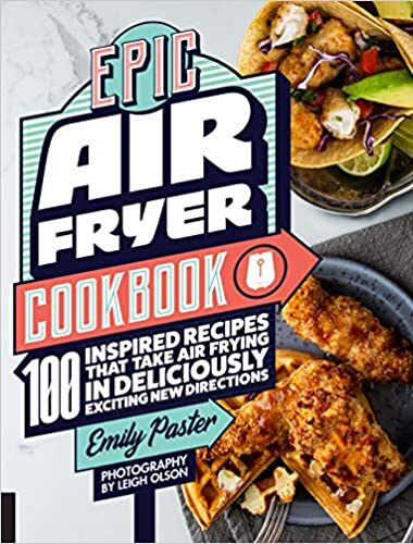 Epic Air Fryer Cookbook cover pic