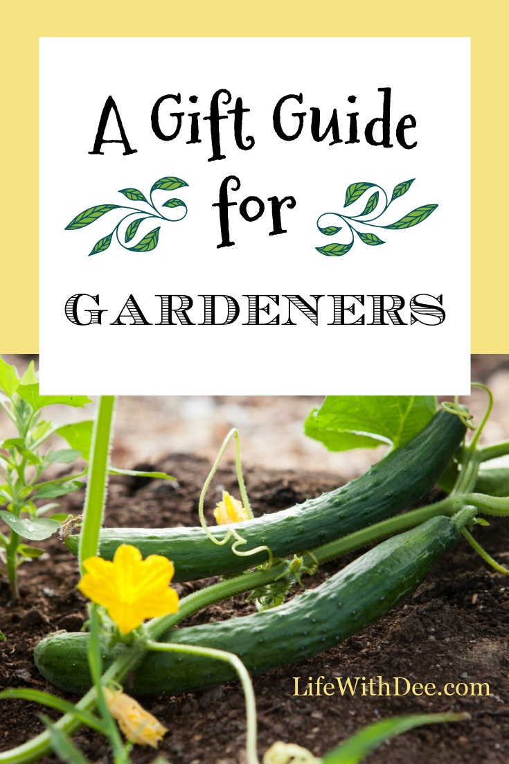 Gift Guide for Gardeners graphic