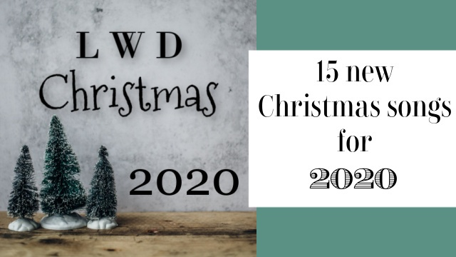 Christmas 2020 playlist graphic