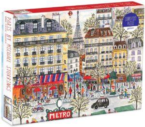 Paris puzzle picture