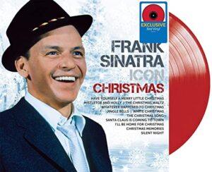 Sinatra Christmas album cover