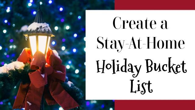 Holiday Bucket List graphic