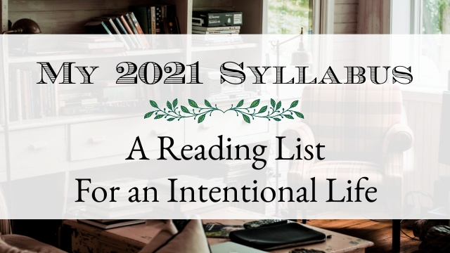 image - personal syllabus reading list