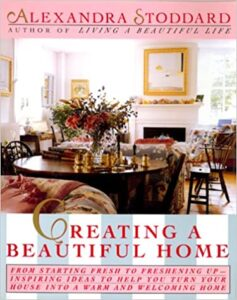 image book cover Creating a Beautiful Home