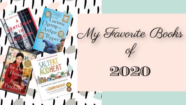 image - Favorite books of 2020