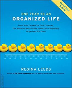 image book cover One Year to an Organized Life