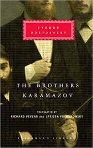 image The Brothers Karamazov book cover