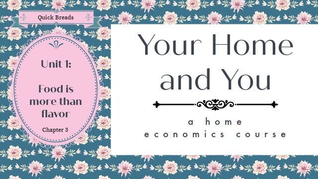 Home Ec image with post title