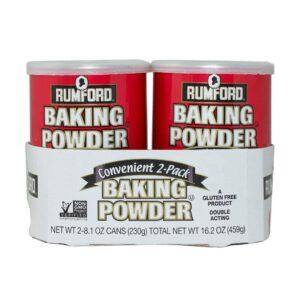 image of baking powder cans