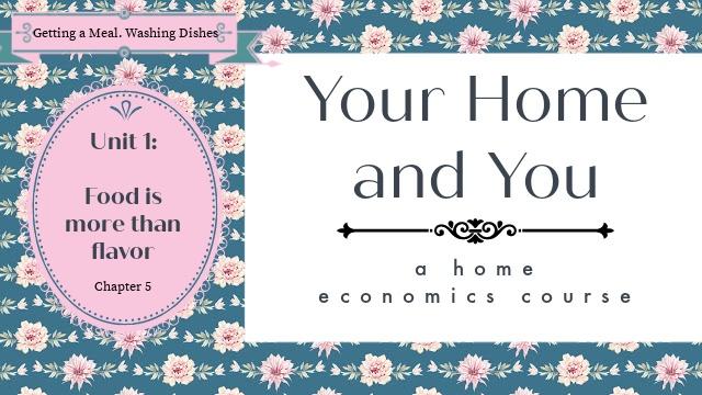 Home Ec Unit 1 Chapter 5 image