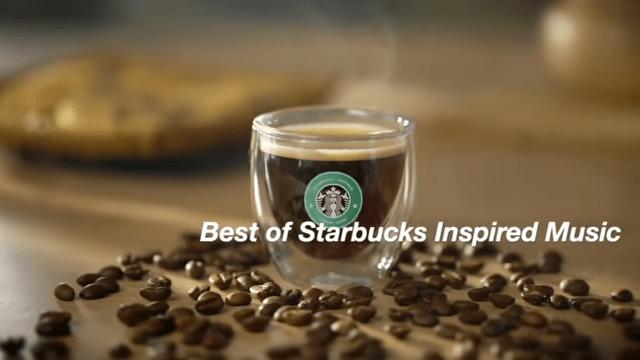 Starbucks music screenshot