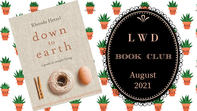 LWD Book Club - Down to Earth book cover graphic